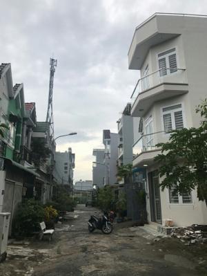 Bán nhà sổ riêng Huỳnh Tấn Phát Nhà Bè DT 4x15m, 3 lầu, 4 PN, hướng Đông Nam, đường 7m
