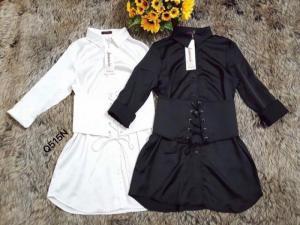 Đầm somi buột eo