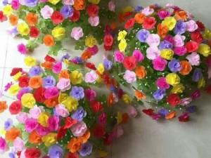 Hoa gấm để bàn, treo tường