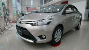 Toyota Vios Số Sàn 2017, ưu đãi sập sàn, trả trước 10%