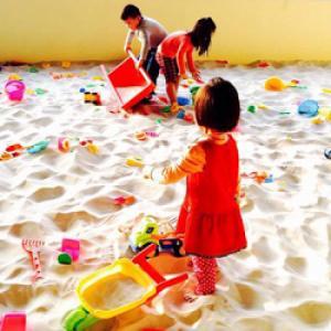 Cần chia lại 7 khối cát trắng trong khu vui chơi đã qua sử dụng với giá rẽ
