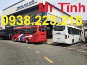 Bán Trả Góp Xe 29 34 Chỗ Bầu Hơi Thaco Town Tb85 Mới Nhất