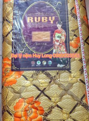 Nệm cao su tổng hợp Ruby 1,6m x 2m x 5cm + quà tặng