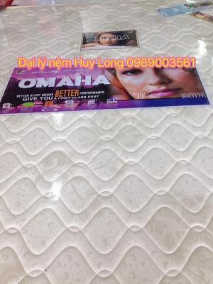 Nệm lò xo cao cấp OMaha cấu tạo 2 lớp 1,6m x 2m x 28cm
