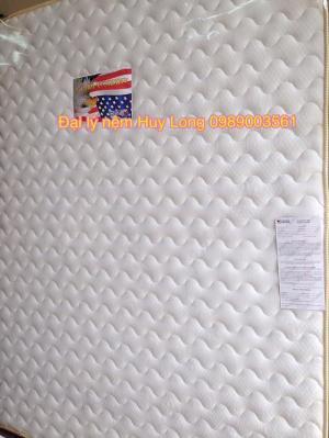 Nệm cao su nhân tạo American (Mỹ) vải gấm Damask