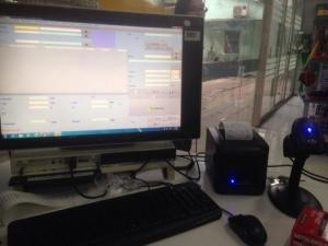 Bộ máy + phần mềm quản lí siêu tiện ích Cần Thơ