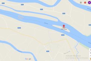 Vị trí  đất Cù Lao Thới Trung, Tiền Gian
