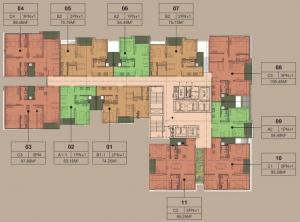 Bán căn hộ chung cư cao cấp the Zen tại Gamuda Gardens giá gốc chủ đầu tư