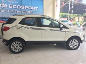 Ford Ecosport là mẫu xe Crossover cỡ nhỏ, 05 chỗ ngồi khá nổi tiếng của Ford. Đối thủ trực tiếp của Chevrolet Trax, Mazda CX-3, Daihatsu Terios..Ford Ecosport 2017 thế hệ hiện tại ra mắt từ 2014, với các phiên bản là EcoSport 1.5L TiVCT Trend- MT (số sàn), EcoSport 1.5L TiVCT Titanium AT (tự động) và EcoSport 1.5L Titanium AT Black Edition.