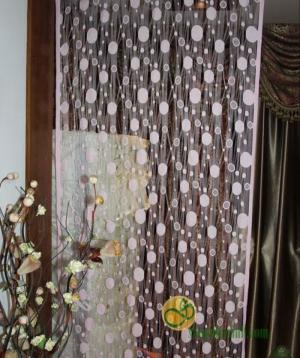 Rèm cửa chấm bi tròn NX303