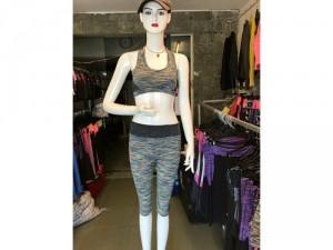 Bộ tập gym áo bra quần lững