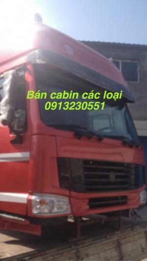 Bán đầu vỏ sọ cabin sino truck howo 371, a7, howo, vinaxuki, chiến thắng, trường giang