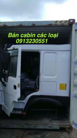 Bán đầu vỏ sọ cabin howo 371, thaco ollin, trường giang, faw j,  faw, sino truck howo 371, a7