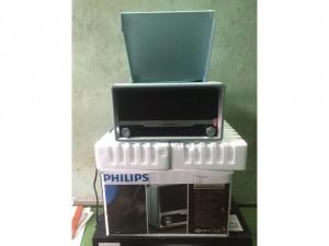 Đầu đọc đĩa Philips và speaker