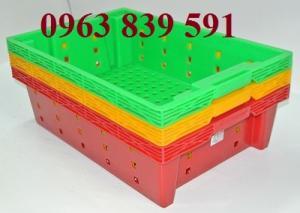 Bán rổ nhựa công nghiệp-rổ nhựa đan có bánh xe giá cạnh tranh.