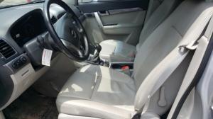 Bán Chevrolet Captiva LT 2.4MT số sàn sản xuất 2013 màu ghi bạc mẫu mới