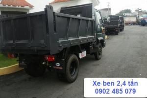 Bán xe ben 2 tấn 4 máy huyndai tại Long An