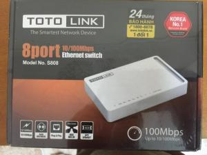 Totolink Router, Kích sóng, Switch tại miền bắc