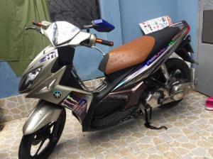 Nouvo Lx 135cc Yamaha chính chủ. nâu đen