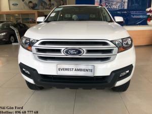 Khuyến mãi mua Ford Everest 2018, trả trước 150 triệu