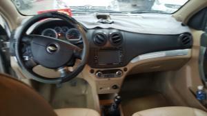 Bán Chevrolet Aveo LT 1.5MT số sàn 2015 màu bạc biển sài gòn đủ đồ chơi