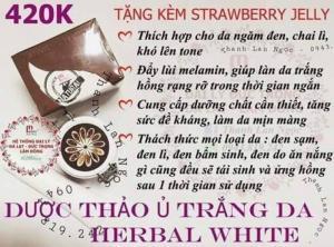 Kem ủ mwhite (Thảo dược ủ trắng da từ thiên nhiên)