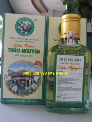 Bán dầu tràm nguyên chất tại Đà Nẵng