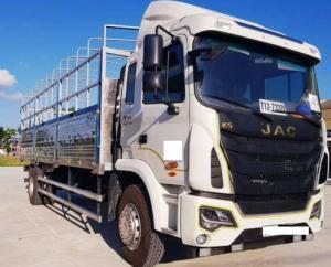 Xe tải jac k5 2 chân 9,3 tấn trả góp .