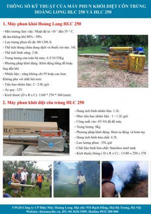 thông tin máy phun khói xịt côn trùng