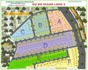 Dự án đất nền Ocean Land 3, đảm bảo uy tín
