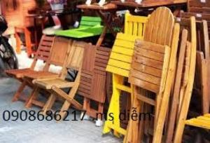 Thanh lý ghế gỗ cafe giá rẻ nhất