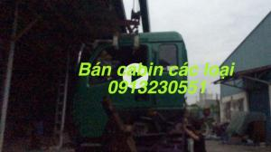 Bán cabin xe hino, isuzu, chenglong, balong, dayun, Hoyun, hohan, cuu long, Việt trung