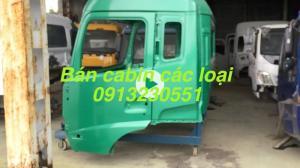 Bán cabin xe dongfeng, chenglong, balong, jac, camc, c&c,  hino, isuzu, huyndai, howo