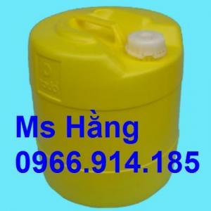 Mua can nhựa 18l đựng hóa chất,chịu nhiệt cao ở đâu tại TPHCM