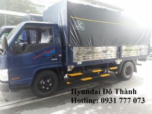 Giá xe tải IZ49 thùng mui bạt - Trả trước 80 triệu, giao xe ngay