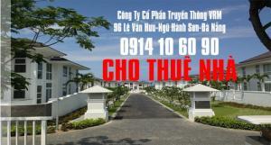 Cho thuê nhà quận Sơn Trà đường Hoàng Bích Sơn 4 phòng ngủ