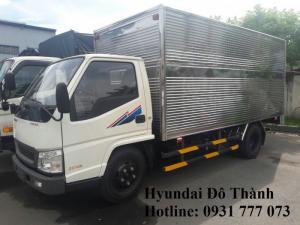 Mua trả góp xe tải IZ49 2.5 tấn - Trả trước 80 triệu