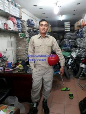 Quần áo bảo hộ lao động túi hộp đẹp dành cho kỹ thuật