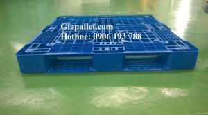 Pallet nhựa mới - Kích thước 1100 x 1100 x...