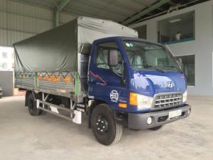 Xe hyundai HD800 8 tấn thùng mui bạt 2017