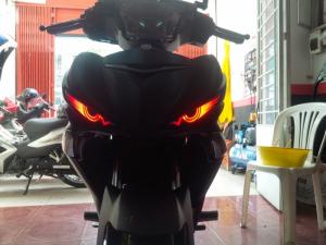 Đèn mắt chim trang trí xe Exciter 150