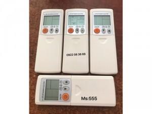 Remote Máy Lạnh MITSUBISHI, Mới 100%, Tặng kèm 2 Pin 3A, Giá 140k