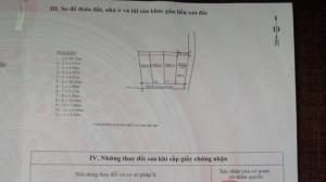 Bán đất tổ 4 phường Giang Biên - Long Biên - Hà Nội
