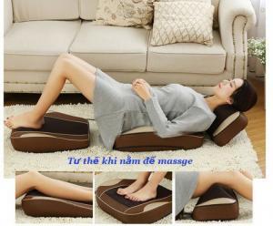 Đệm massage thế hệ mới massage theo huyệt đạo cơ thể,ghế massage toàn thân F08