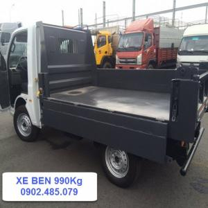 Xe Ben 990 kg nhập khẩu Ấn Độ mới 100% dễ dàng vận chuyển các mặt hàng vật liệu xây dựng tới các công trình.