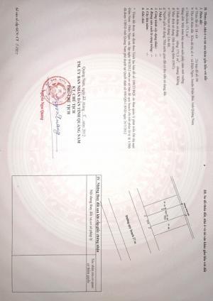 Chính chủ bán gấp 2 lô đất Mt Nguyễn gia thiều dường 27m