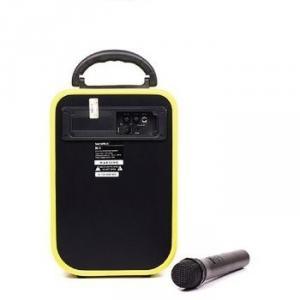 Loa Kéo Du Lịch Soundmax M1 (Bluetooth 4.0, Usb, Sd, 40W, Pin Sạc) + Micro Không Dây Chính Hãng