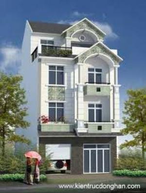 Bán nhà 53 ngõ 432 phố đôi cấn Ba Đình Hà Nội, DT-57,5m2 mặt tiền 4.5 m xây mới 5 tầng