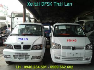Xe tải Thái Lan DFSK 860kg trả góp theo tháng