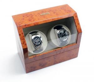 Hộp đựng, bảo quản đồng hồ cơ 2 chiếc Heiden